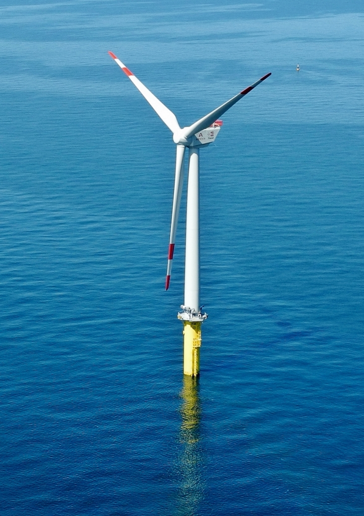 Highlight Thema Glider Offshore Windpark Windrad Windenergieanlage