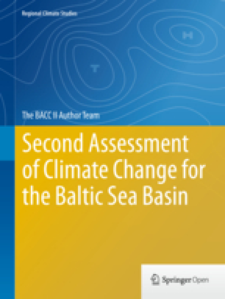 BACC II COVER Second Assesment of Climate Change for the Baltic Sea basin