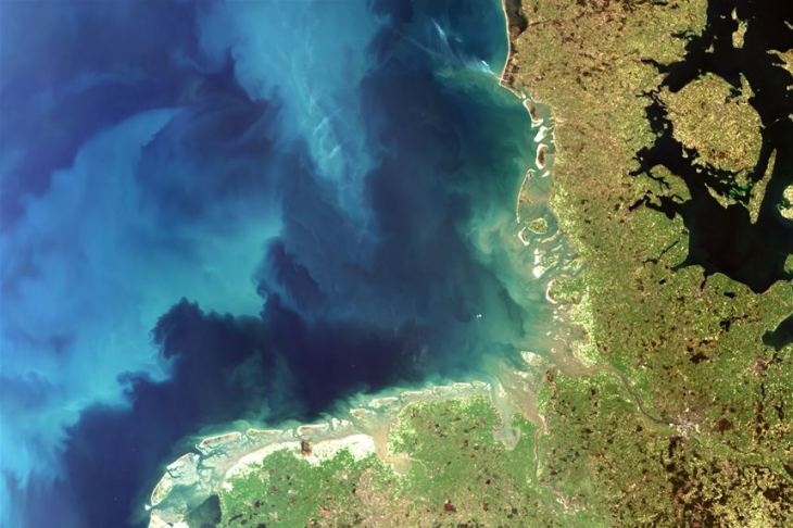 CoastMap Satellitenbild Nordsee
