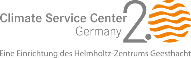 Logo Climate Cervice Center Germany, An institution of HZG