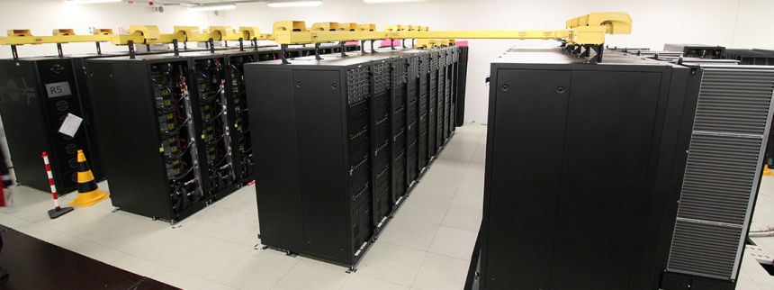 The new supercomputer MISTRAL.