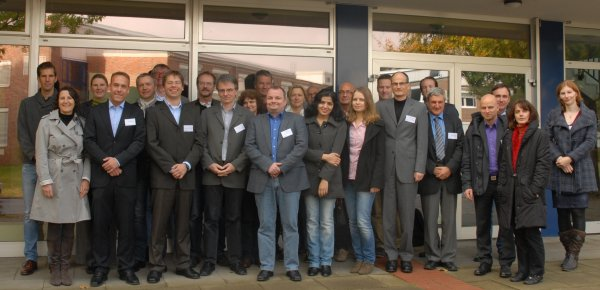 The participants in the Helmholtz Virtual Institute's beim Kick-off in Geesthacht