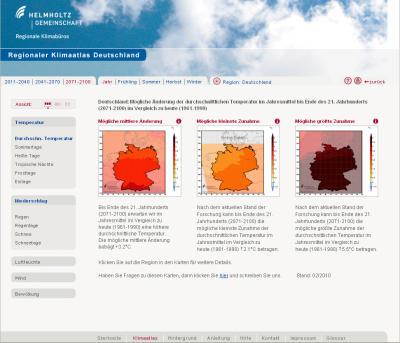 Regionaler Klimaatlas für Deutschland ab sofort online!