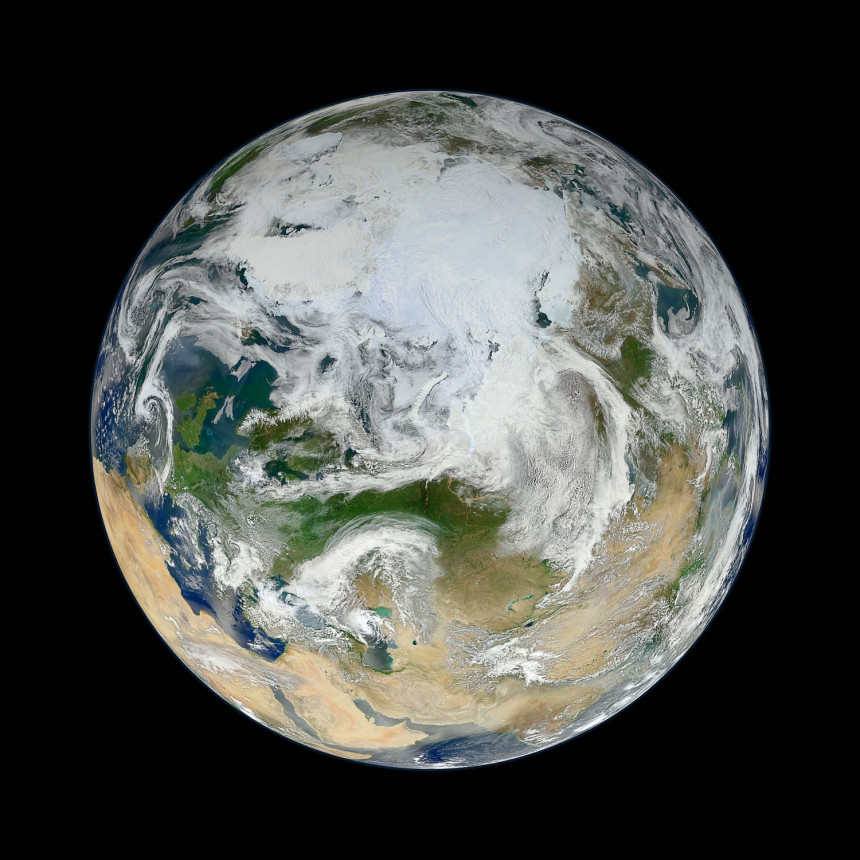 Satellite image Earth