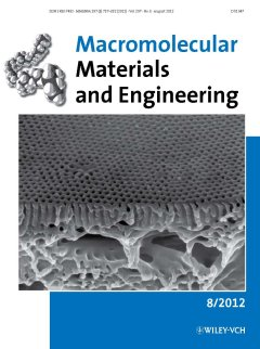 During the project SELFMEM there has been numerous publications, currently in the journal 'Macromolecular Materials and Engineering'