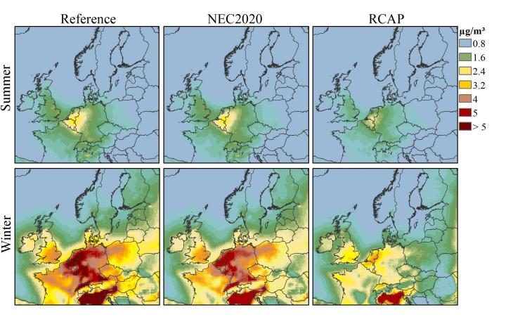 Grafik: NO3 Konzentrationen