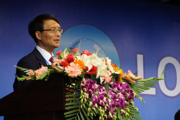 Deliang Chen (International Council for Science - ICSU), invited speaker at the opening ceremony.