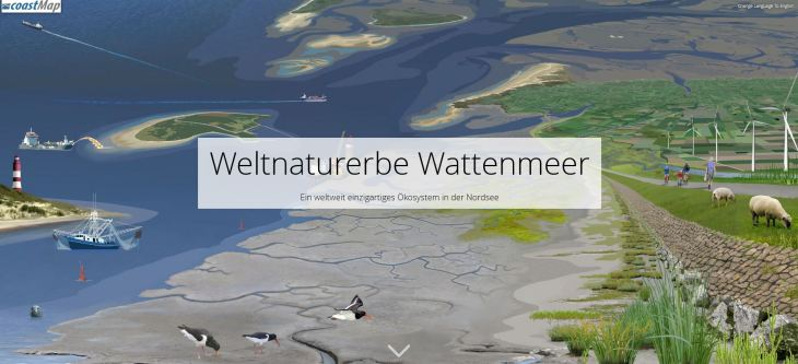 Writing before landscape graphics: Wadden Sea World Heritage