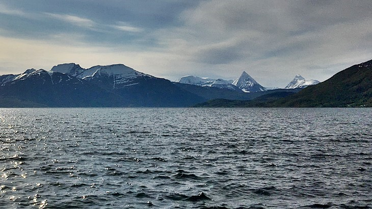 Balsfjord in Norway
