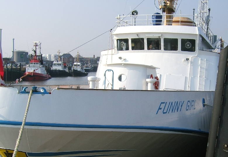 …the Helgoland ferry Funny Girl . -Image: Hereon-