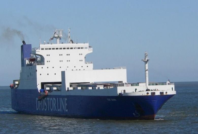 The Tor Dania carries a FerryBox ,…   -Image: Hereon-