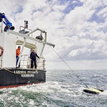 Einsatz ScanFish auf den Forschungsschiff Ludwig Prandtl