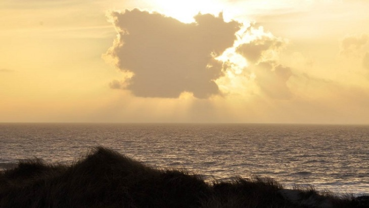Sunset at Sylt