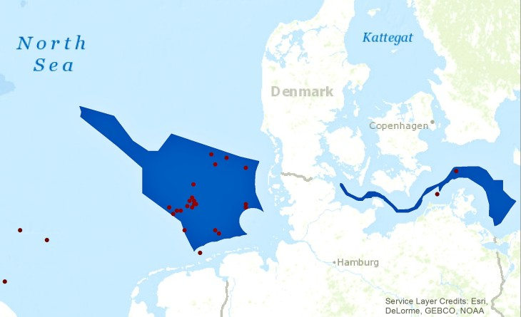 Image Coastdat Planned Wind Farms G