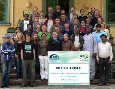 "The fifth ""School of Environemental Research"". Attendees from 26 countries."