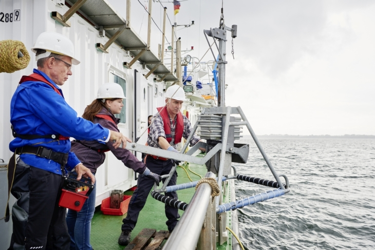 North Sea expedition (Photo: Hereon/Christian Schmid)