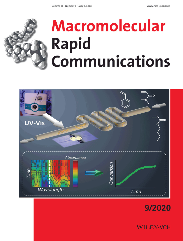 Cover page Macromolecular Rapid Communications 2020, https://doi.org/10.1002/marc.202000029