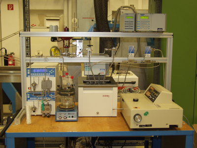 Nanofiltration apparatus for testcells