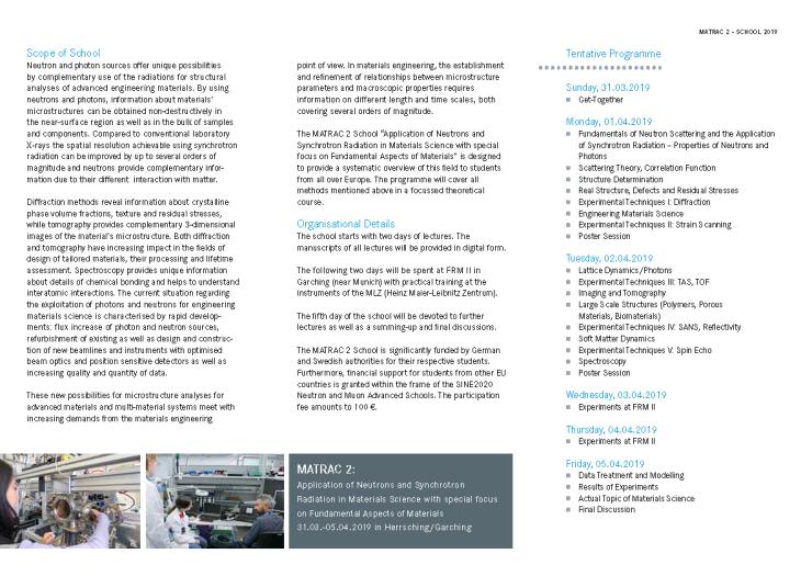 Microsite Summerschool Werkstoffforschung Startseite