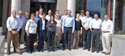 At the final meeting in Swiss Neuchâtel: the SELFMEM-Participants
