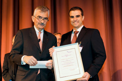 The Nordmetall-Stiftung prize for Sergio Amancio