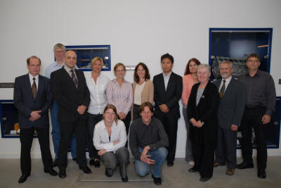 The Participants of the first MagnIM-Meeting, Regine Willumeit (6th f.r.) [Download]