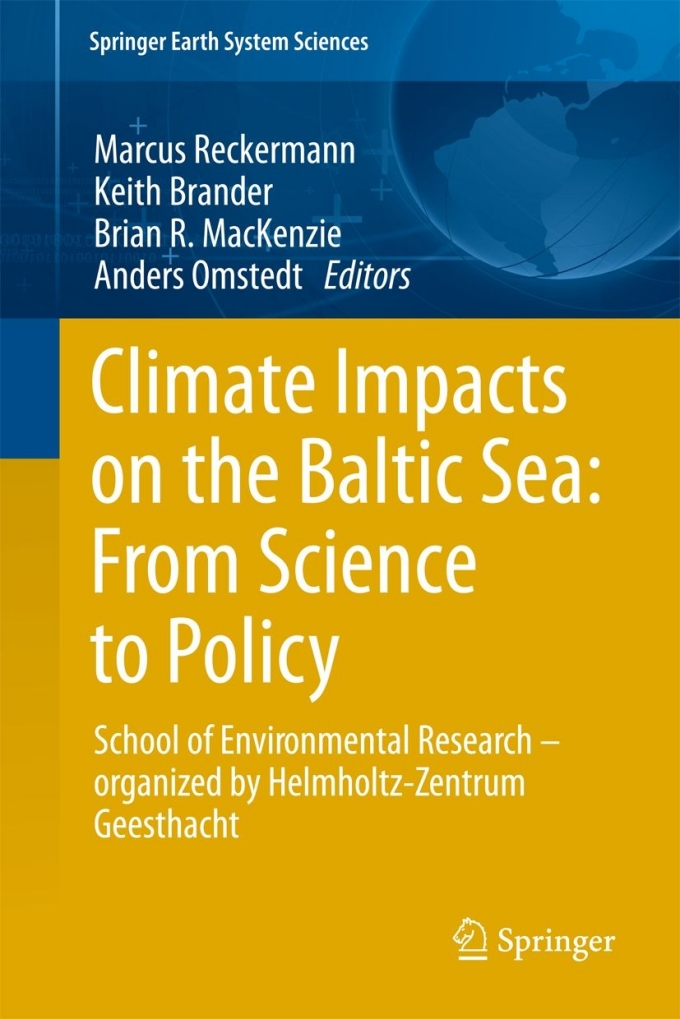 Book Cover Published by Springer Verlag: Climate Impacts on the Baltic Sea: From Science to Policy