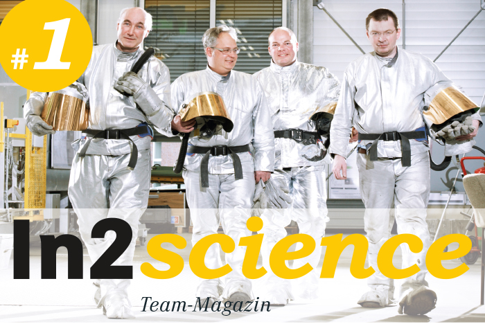 Cover Magazin in2science