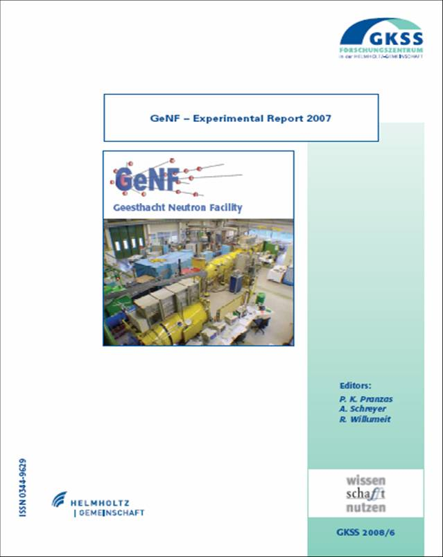 GeNF Experimental Report 2007 (27MB)