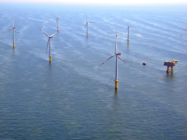Highlight Thema Glider Offshore Windpark Nordsee