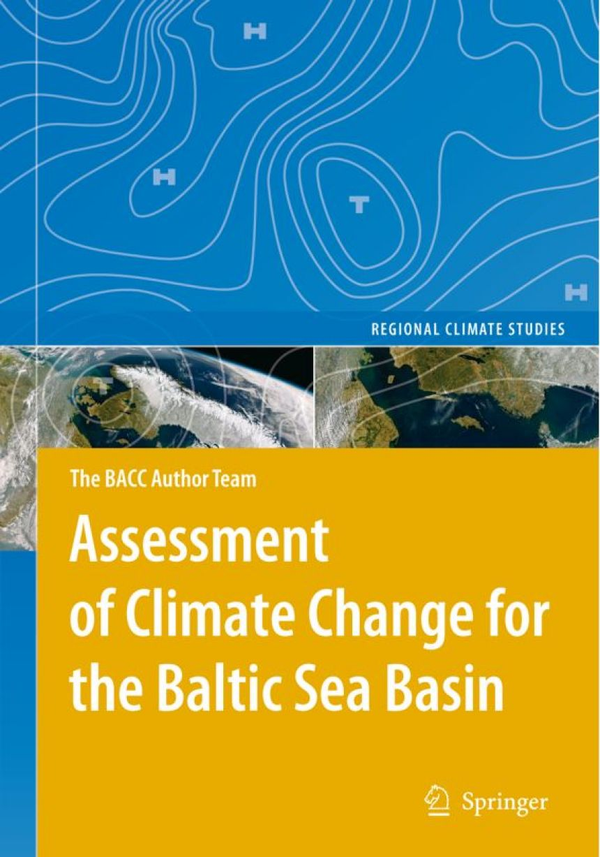 Buch Cover Assessment of Climate Change for the Baltic Sea Basin